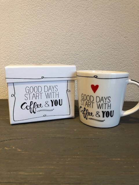 Mok Good days start with coffee and you