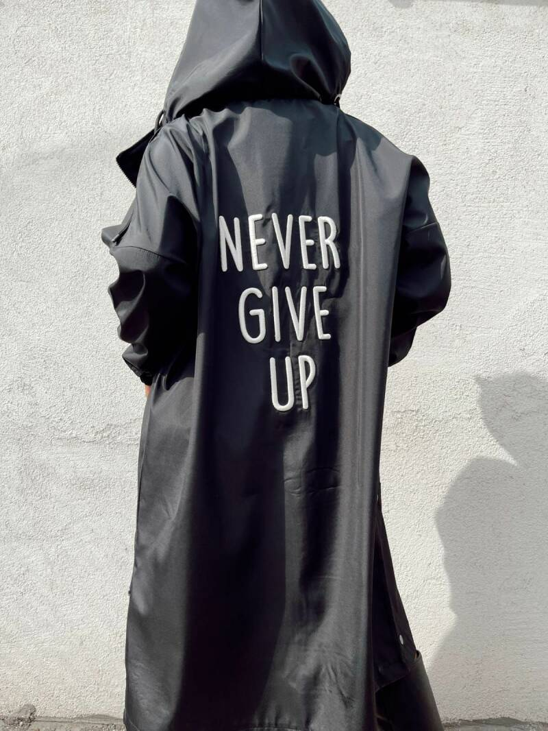DIE & MORE COAT NEVER GIVE UP