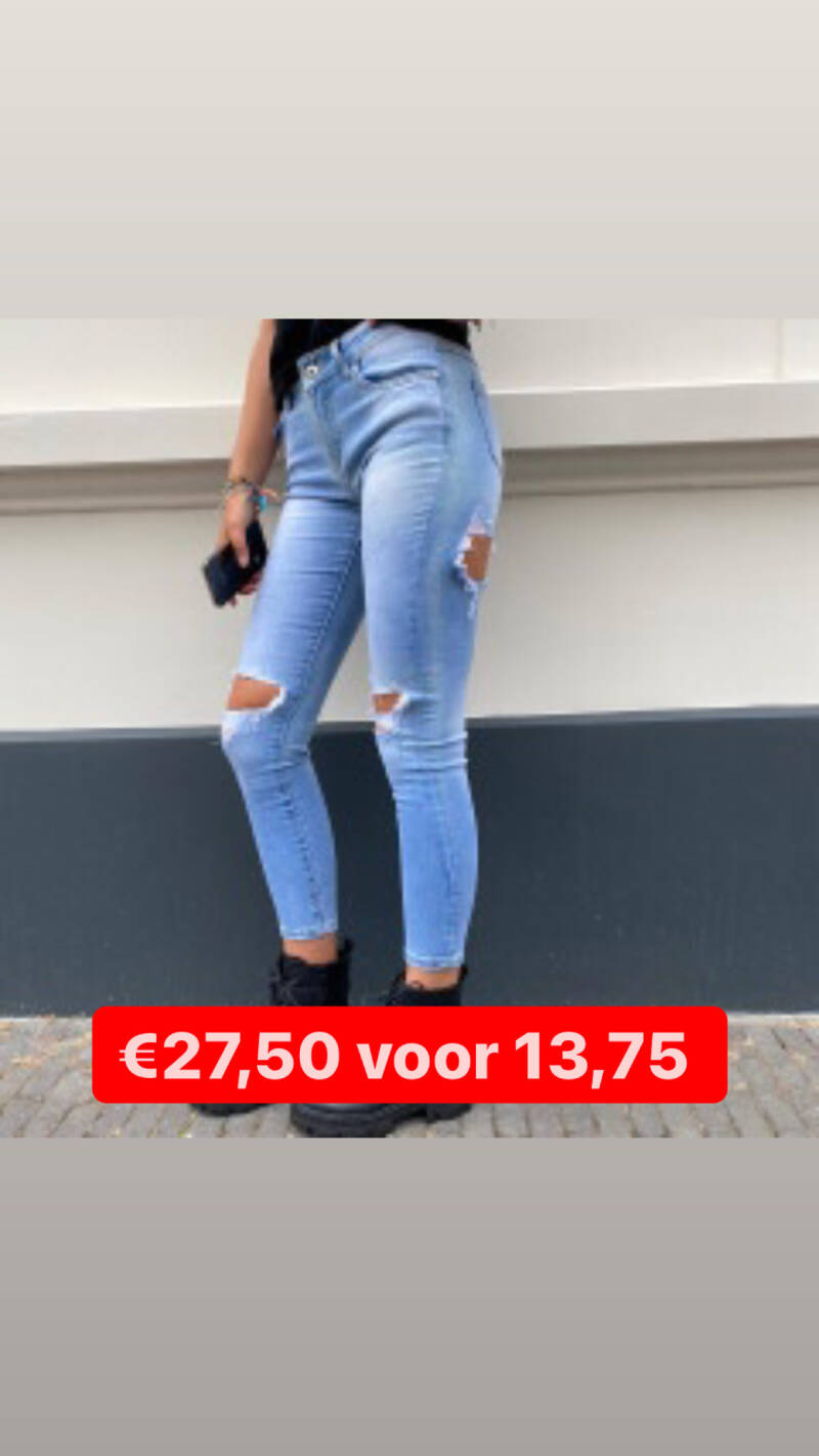 REDIAL RIPPED JEANS 5056