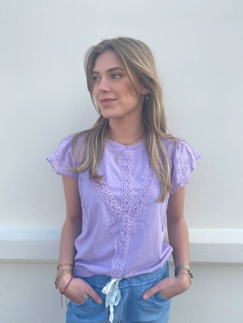 AMBIKA BRODERIE T-SHIRT 1611
