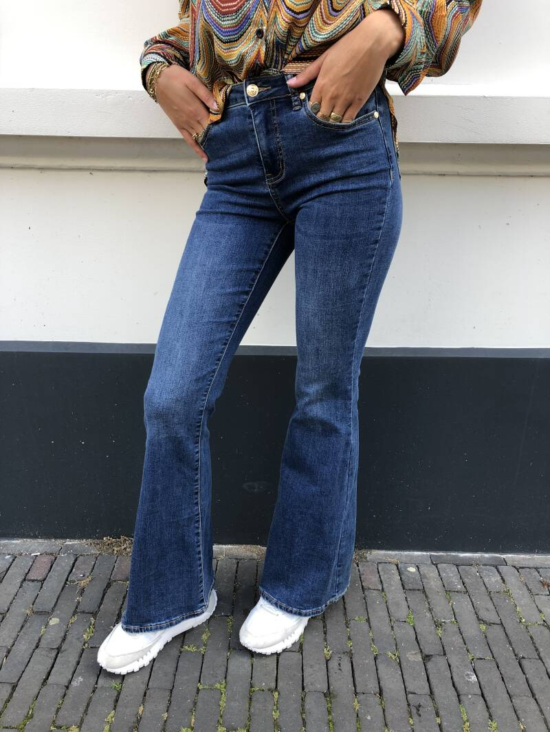 SEXY WOMEN FLARED JEANS 121