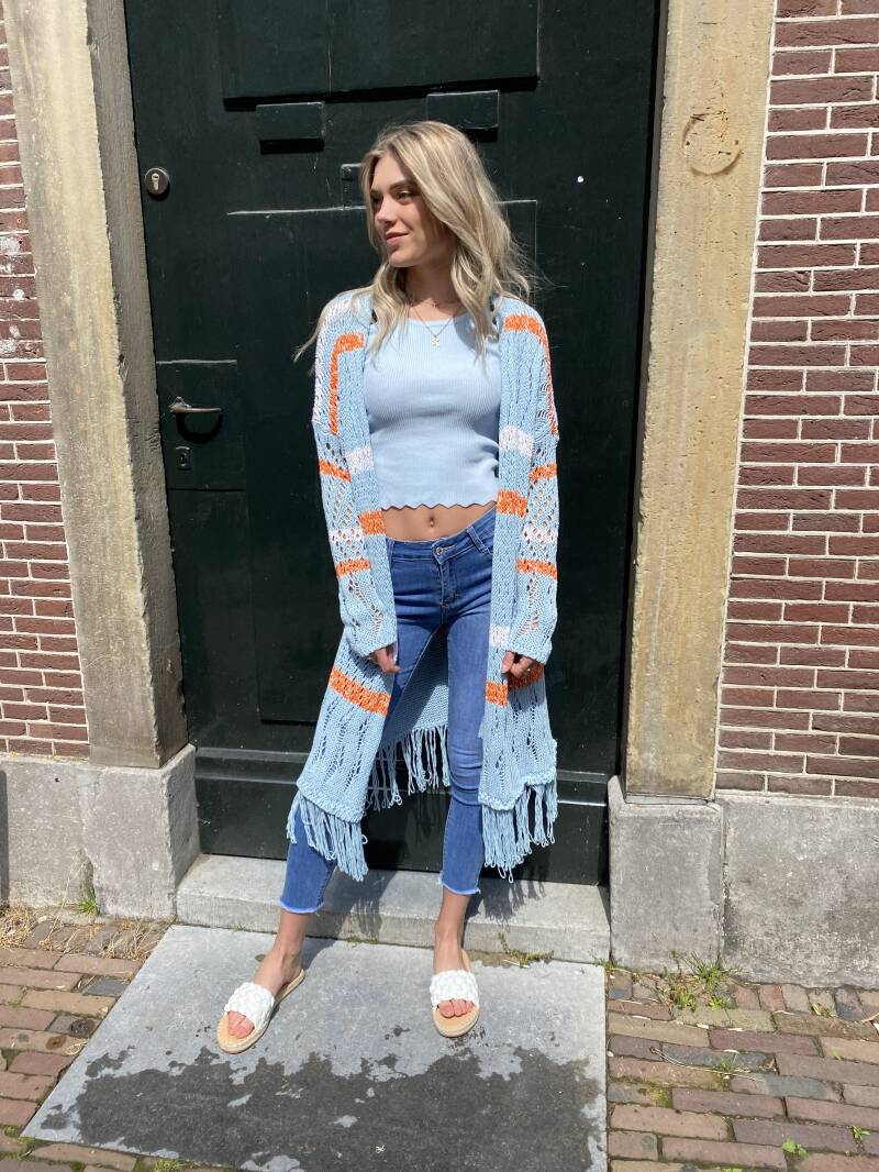 DINS TRICOT KNITTED VESTS 3499