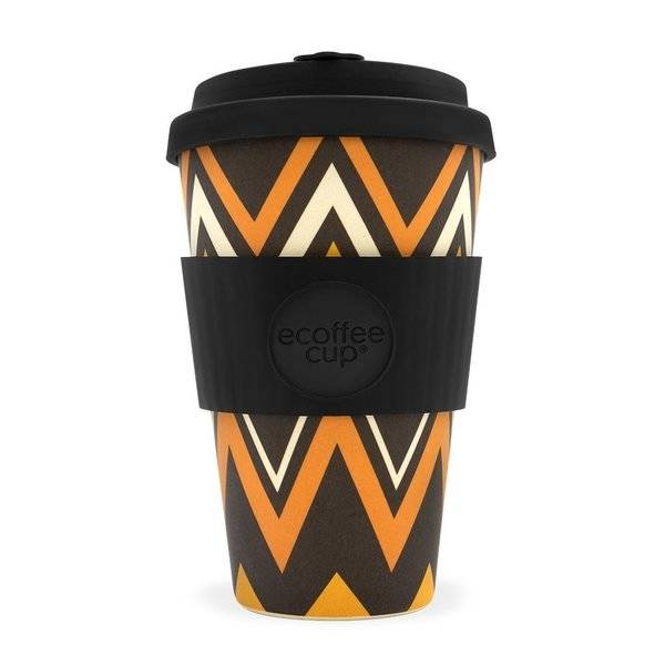 Ecoffee cup ZIGNZAG 14oz