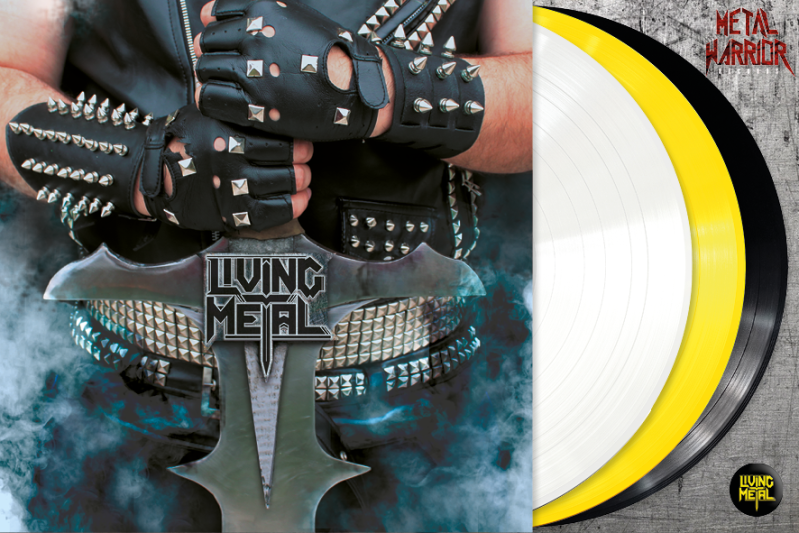 LIVING METAL - LIVING METAL (Yellow, white or BLACK VINYL)