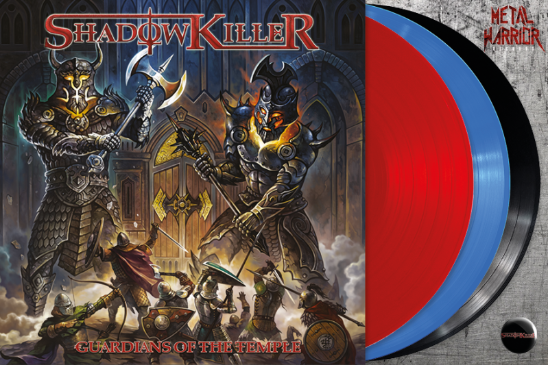 SHADOWKILLER - GUARDIANS OF THE TEMPLE (RED, BLUE OR BLACK VINYL)