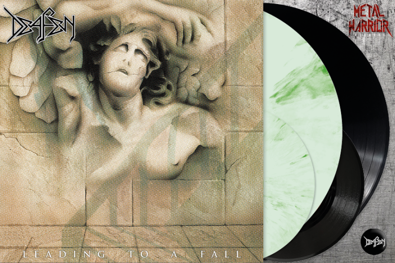 "DEAFEN - LEADING TO A FALL LP+7""+BOOKLET (MARBLED WHITE/GREEN OR BLACK VINYL)"