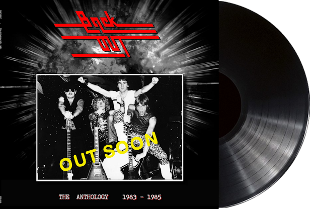 Back Out - THE ANTHOLOGY 1983 - 1985 (BLACK VINYL) 50 COPIES + T-SHIRT