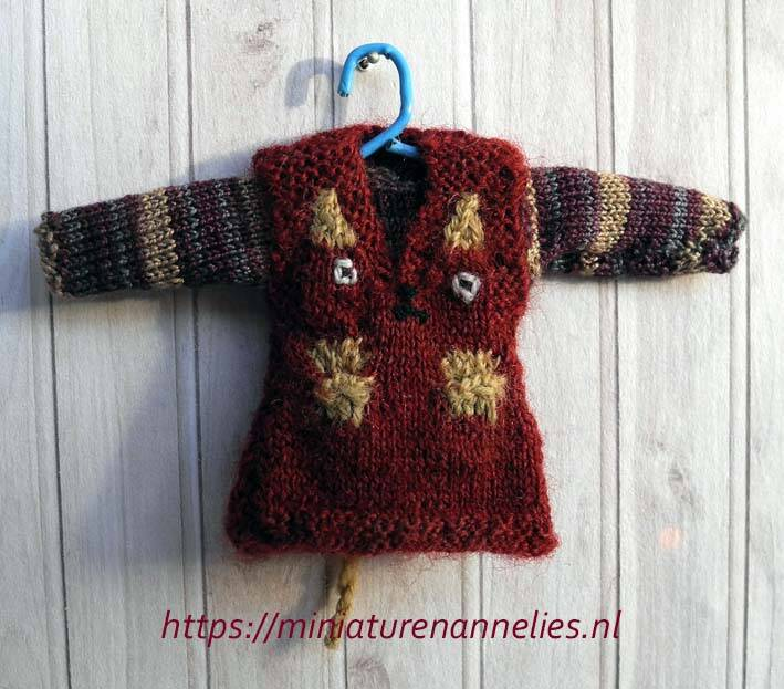 Overgooier met trui-hond - Pinafore and jumper-dog