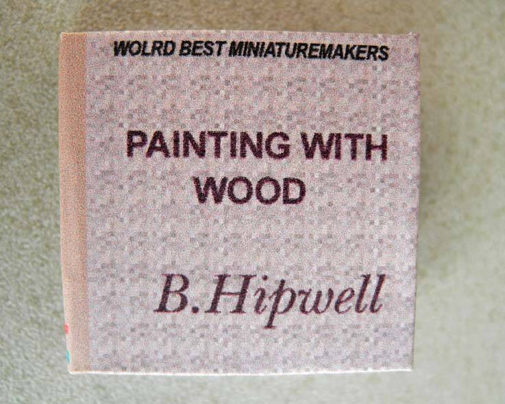 Dit boek is in het engels - Painting with wood- Barry Hipwell