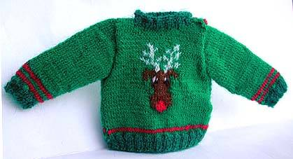 Herentrui met eland - Mens jumper with moose