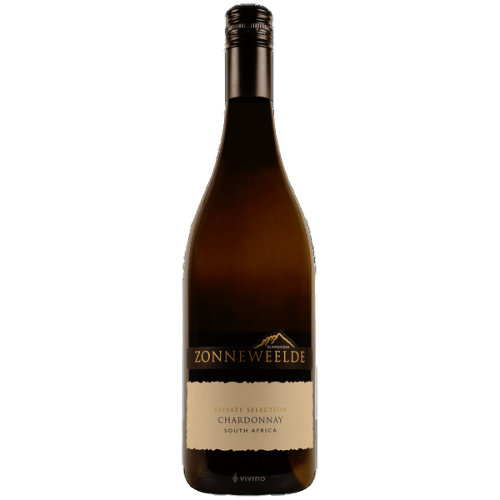 """Zonneweelde """"Private Selection"""" Chardonnay 2018 75 cl."""