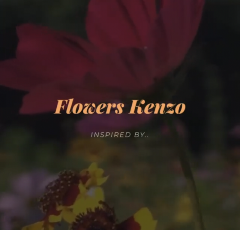 Wax Melts - Inspired by Flower Kenzo