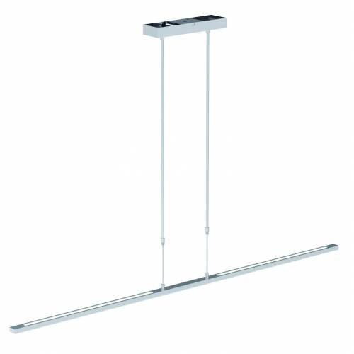 Hanglamp Led 123 cm breed ST1011482 staal