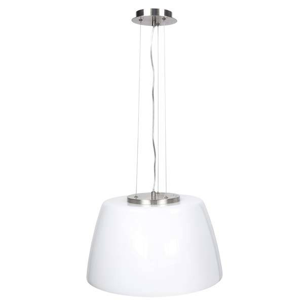Design hanglamp opaal wit glas H1015123
