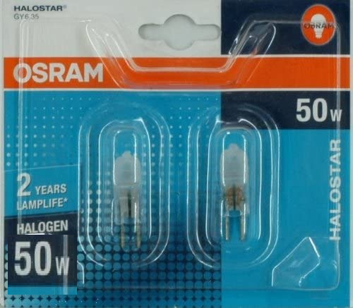 Osram Halogeen/Halostar 2x12v 50w Gy6.35 MAT Duo blister
