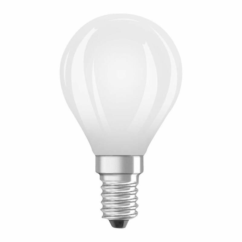 Osram Led kogel Filament E14 2.8w (vervangt 25 watt) mat 2700k 250L