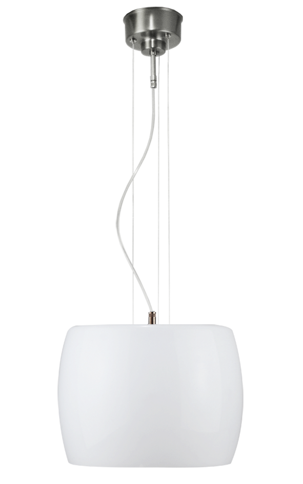 Design lamp opaal wit glas OL1013224