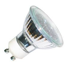 Bellight halogeen spot GU10 51mm MR16 230V 20w