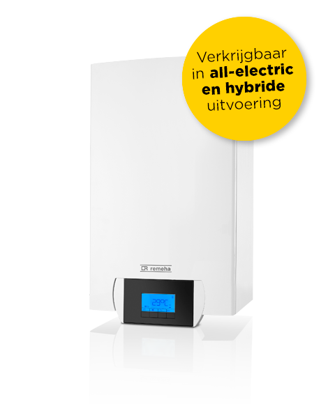 (7699121) Lucht/water warmtepomp Remeha Mercuria WPR-2/E 4-8kW