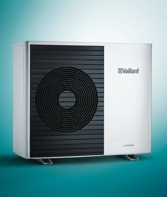Split lucht/water warmtepomp Vaillant aroTHERM (VWL 125/5 AS)