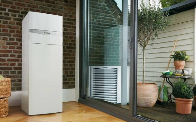 (0010022085) Split lucht/water warmtepomp Vaillant uniTOWER  aroTHERM VWL 78/5 IS MB3