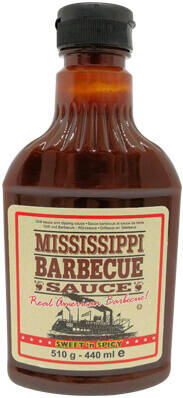 Mississippi BBQ Saus Sweet 'n' Spicy