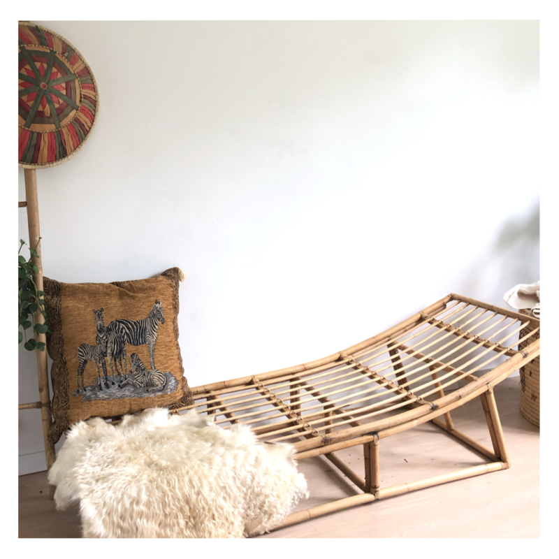 Rotan day bed