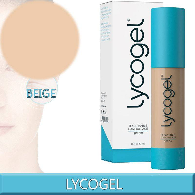 Lycogel Breathable Camouflage Beige