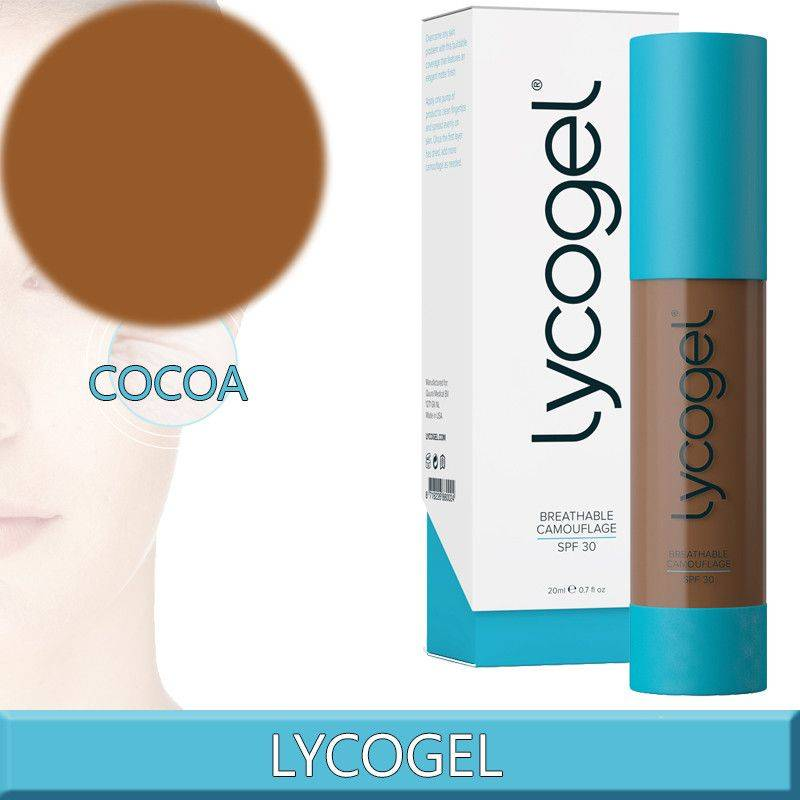 Lycogel Breathable Camouflage Cacao