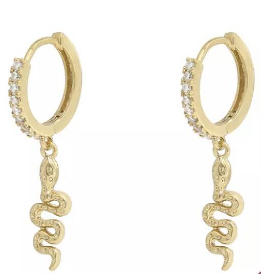 Lizzy hoops gold