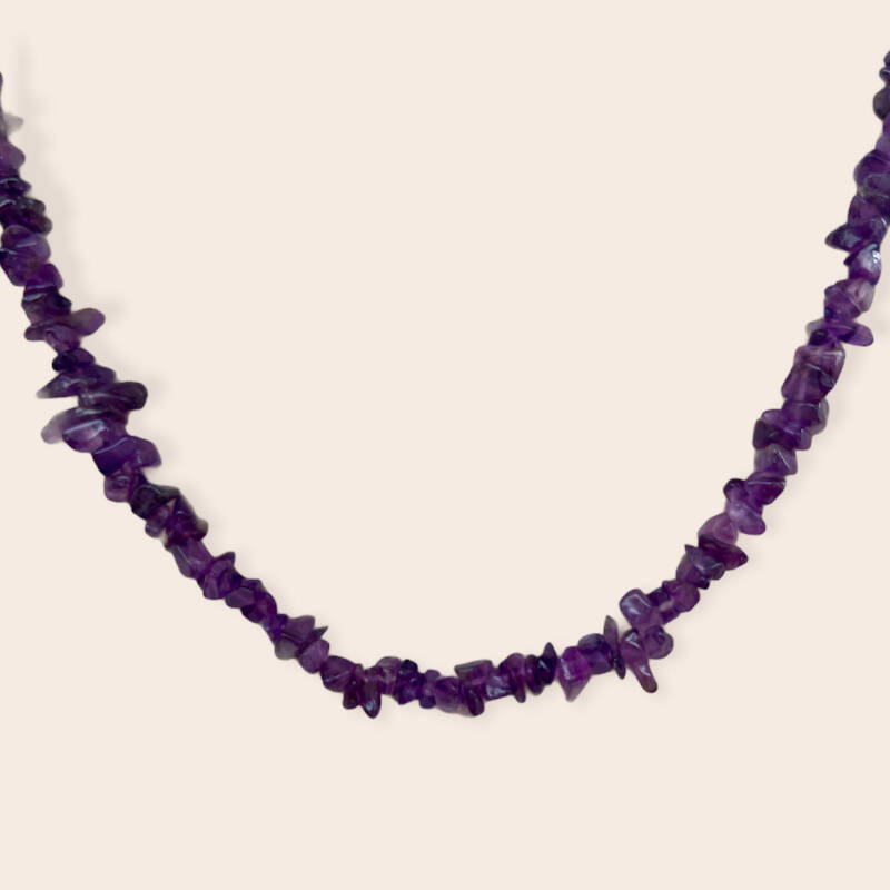 amethist necklace
