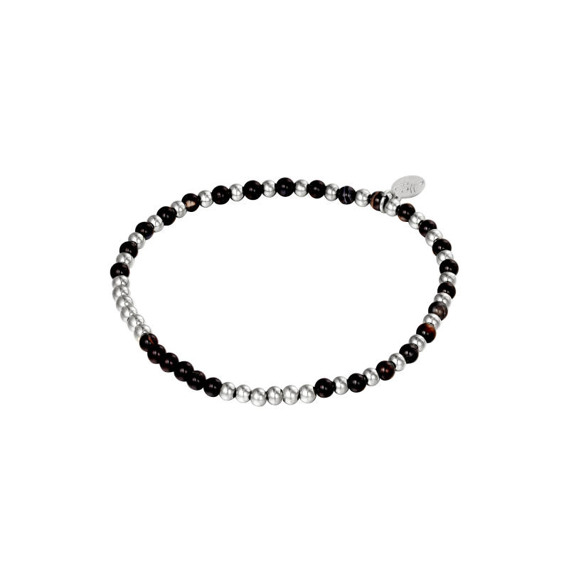 Armband Beads Spheres zilver