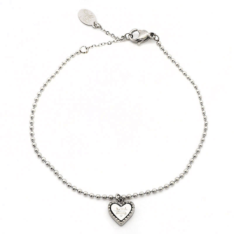 Armband Be Kind zilver
