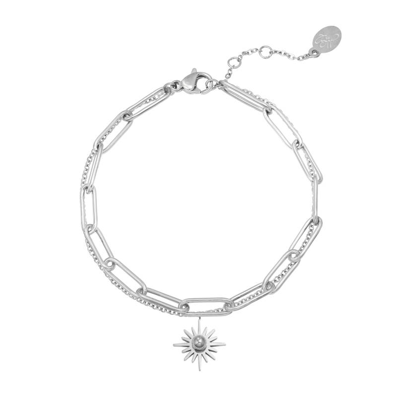 Armband Everlasting zilver
