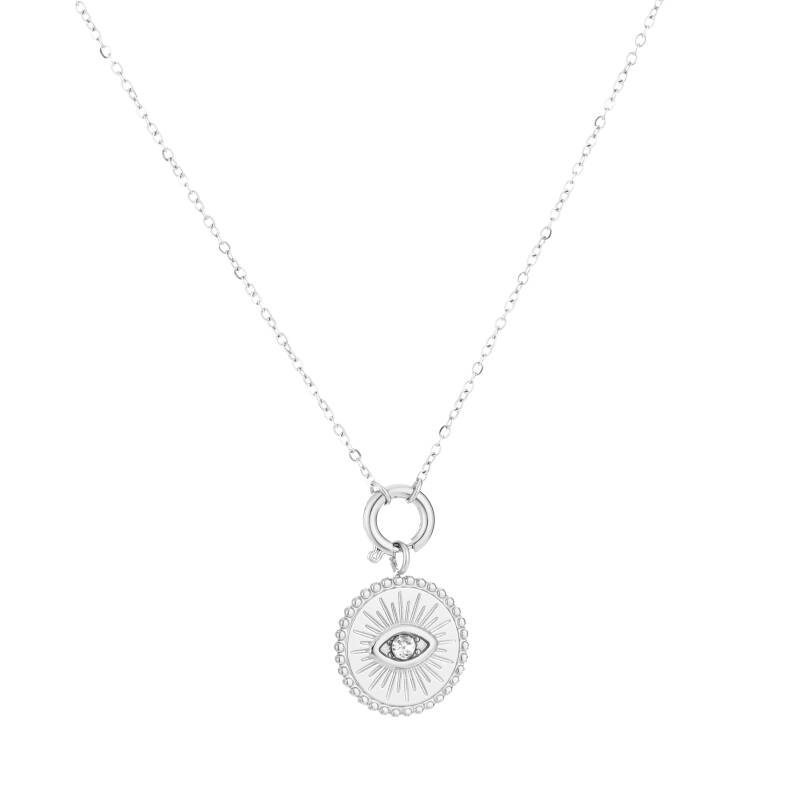 Ketting Sparkle Eye zilver