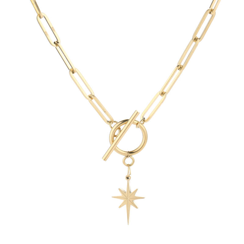 Ketting Morning Star goud
