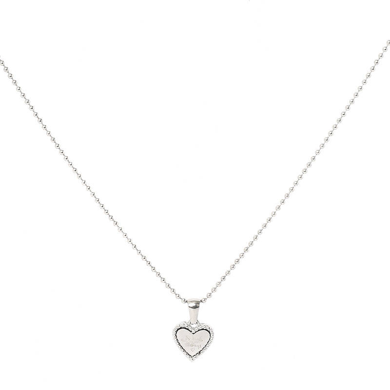 Ketting Be Kind zilver