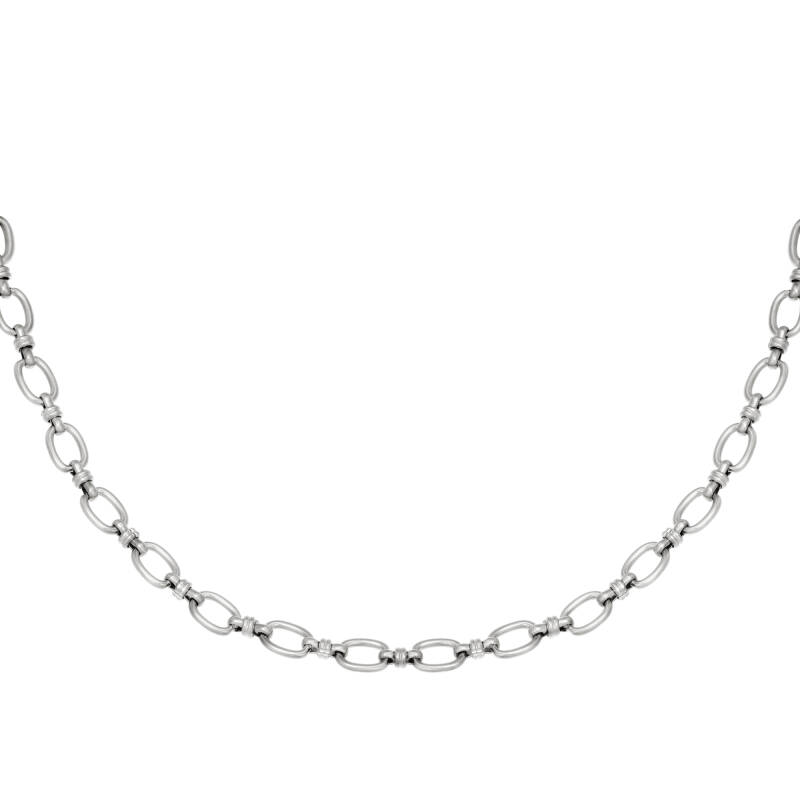 Ketting Lemming small zilver