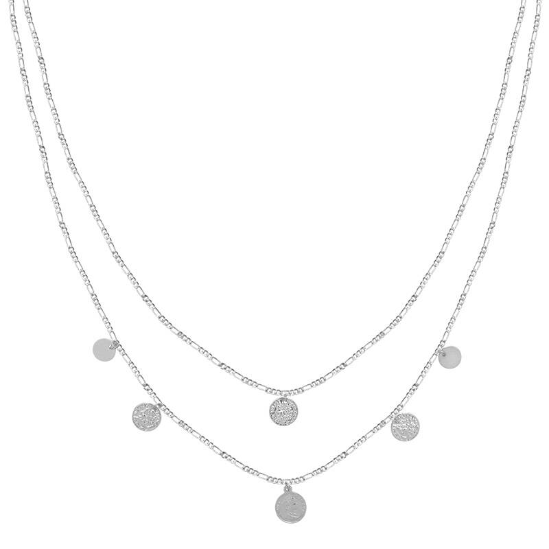 Ketting Royal Coins zilver