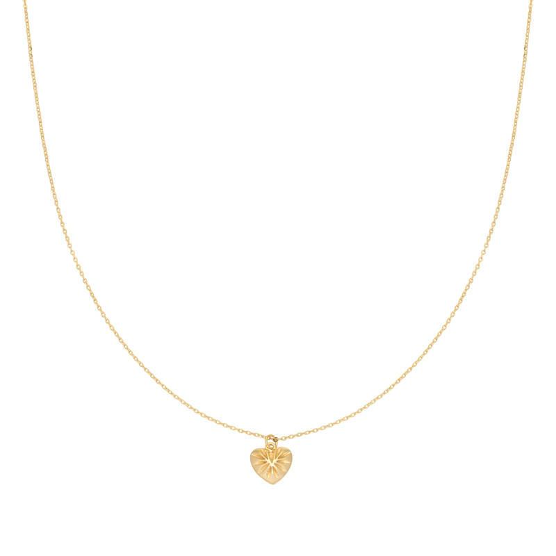 Ketting You Have My Heart goud