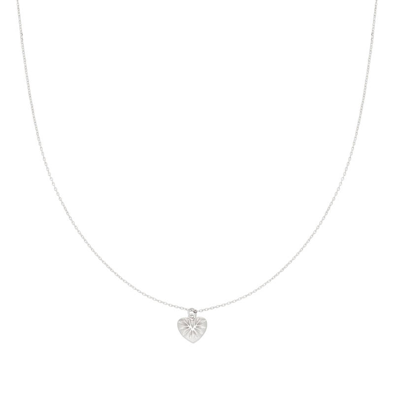 Ketting You Have My Heart zilver
