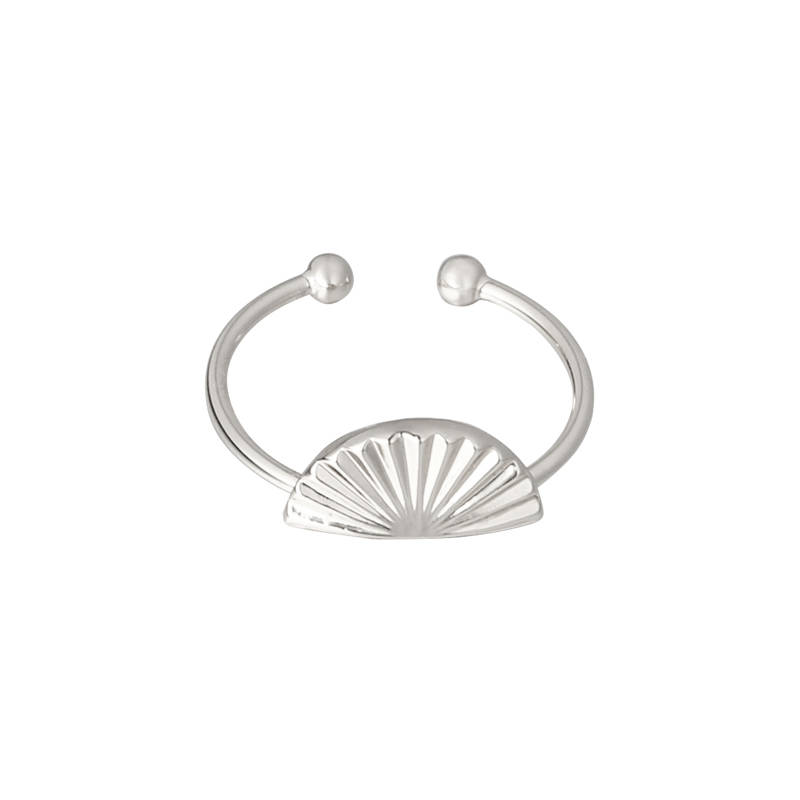 Ring Shell zilver