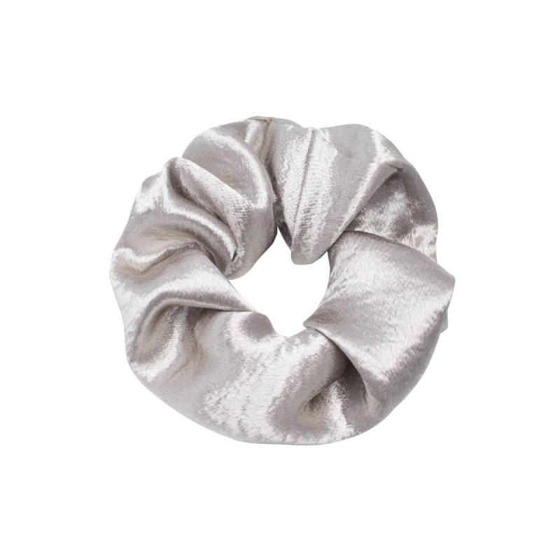 Scrunchie Sweet as Satin zilver