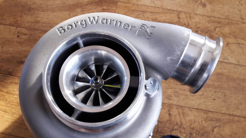 BorgWarner BorgWarner AirWerks S400SX-E Turbo - 76mm 100/96 - 14009097013