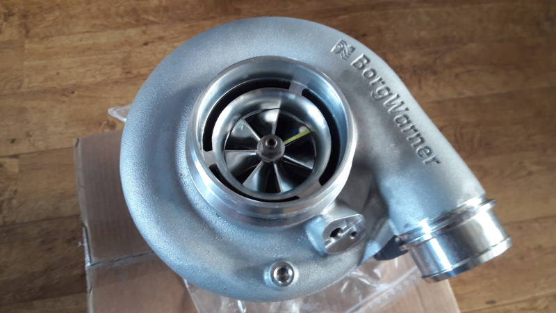 BorgWarner AirWerks S300SX-E Turbo - 69mm 91/80 - 13009097051