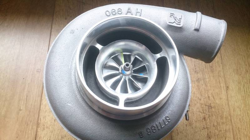 BorgWarner AirWerks S400SX-E Turbo - 72mm 96/87 - 14879880082