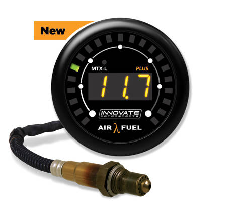 innovatemotorsports-mtxl_plus-P/N: 3918 Digital Wideband Air/Fuel Ratio Gauge Kit (8 Ft.)