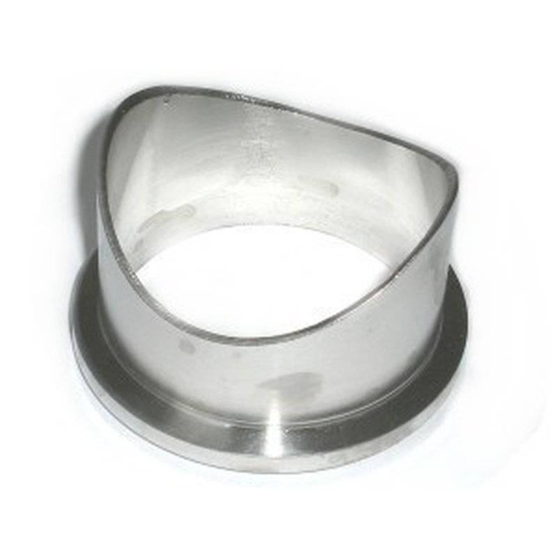 Flange V2A for all TiAL BOVs stainless steel