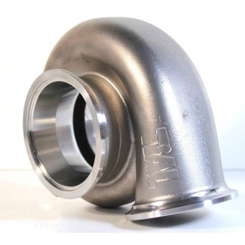 TiAL V-Band stainless steel exhaust housing - GT28 Series 0.64ar