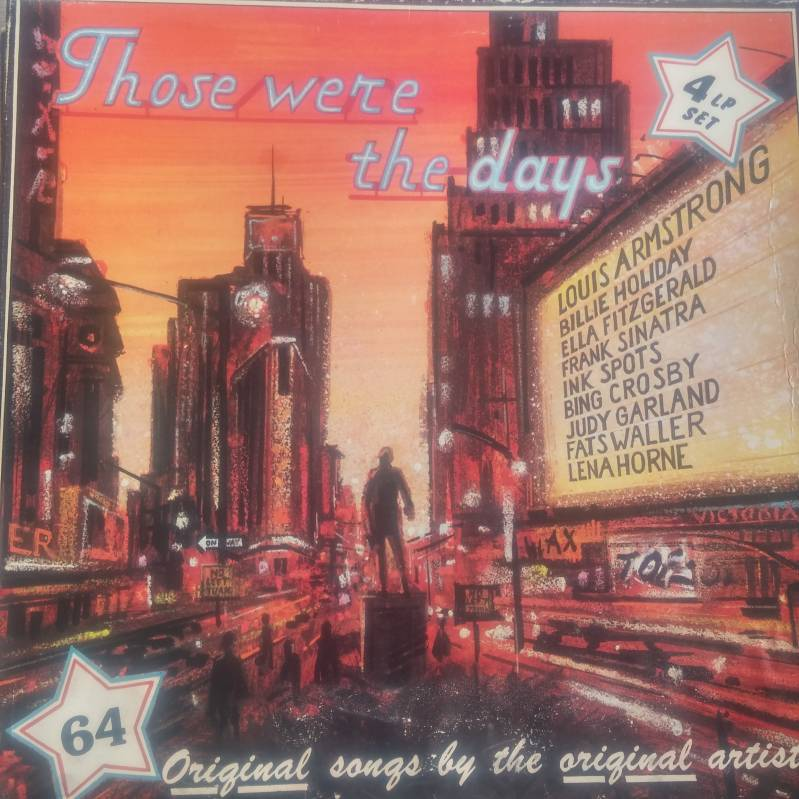Various - Those were the days (4 lp set)